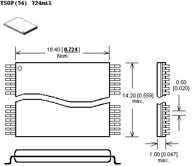 obudowa tsop56-a641
